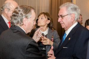 Pedro Núñez Morgades, Manuel Alvarez del Manzano, Felisa Atienza y Ramón Rodriguez Arribas